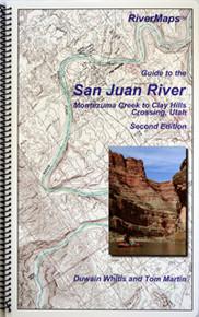 San Juan River Map, 3rd Edition
