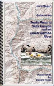 Hells Canyon Snake and Salmon Rivers Map