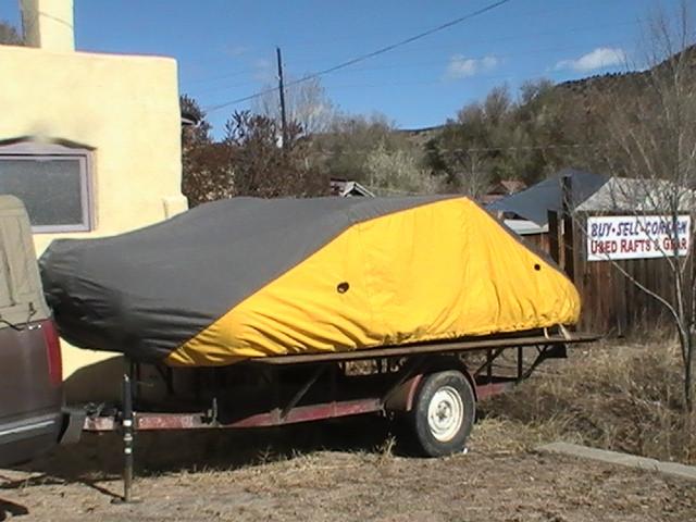 Custom Boat Covers - Tuff River Stuff