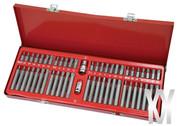 """Wondermantools® 1/2"""" 3/8"""" Dr Hex Star Spline Torx Bit Socket Set"""