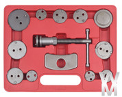 12pc Brake Piston Wind Back Tool Kit UK SELLER