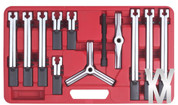 12pc Universal Gear / bearing Puller Extractor Remover set 2 or 3 leg