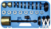 25 Piece Front Wheel Drive Car service Bearing Removal Tool Set Kit 25 PCS UK SELLER