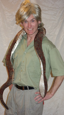 Steve Irwin Costume for Hire - The Littlest Costume Shop