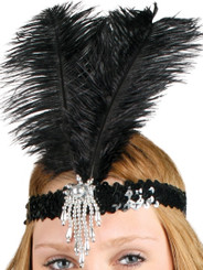 1920's flapper headdress, headband