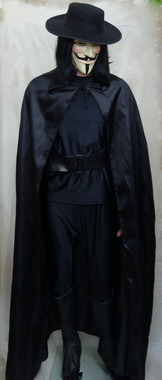 V for Vendetta Costume for Hire - The Littlest Costume Shop, Melbourne