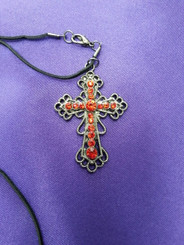 Gothic Cross Necklace from The Littlest Costume Shop in Melbourne