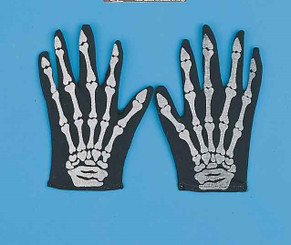 Skeleton Costume Gloves
