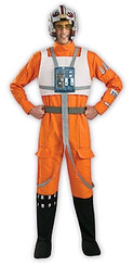 Luke Skywalker Rebel X-Wing Fighter Pilot Costume For Hire - Star Wars