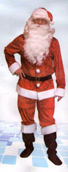 Velvet Santa Costume - Father Christmas Dress Up