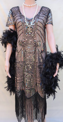 1920's Flapper Dress for Hire.