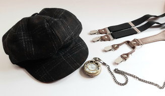 'Peaky Blinders' Style Accessories for Hire from The Littlest Costume Shop in Melbourne
