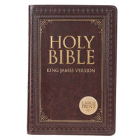 BROWN KJV BIBLE LARGE PRINT
