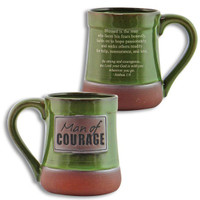 MAN OF COURAGE MUG