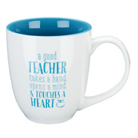 BLESSING TO THE TEACHER  IN BLUE 1 CORINTHIANS 16:14 MUG