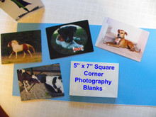 "5"" X 7"" Aluminum Photography Blanks, lot of 20PCs"