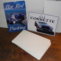 "8"" x 12"" High Gloss Aluminum Sublimation Blanks with 1/2"" Radius Corners"