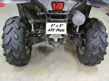 "5"" x 8"" Sublimation ATV Plate"