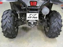 "5"" x 8"" Sublimation ATV Plate"