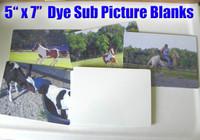 """5"""" x 7"""" Aluminum Dye Sublimation Picture Blanks"""