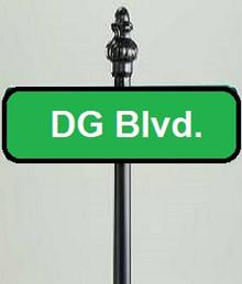 "4"" x 13.5""  Aluminum Dye Sublimation Street Sign Blanks"