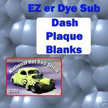 """2-3/4""""x 4"""" Dye Sublimation  Dash Plaque Blanks"""
