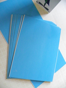 """12"""" x 16"""" High Gloss White Aluminum Photography Blanks, .025"""" Thickness"""