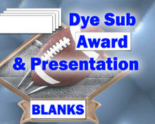 """1-1/4"""" x 3"""" Aluminum Dye Sub Award and Trophy Plate Blanks 100 Pieces"""