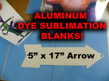 Aluminum Dye Sublimation Arrow Blank
