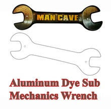 Dye Sublimation Aluminum Mechanic's Wrench Blank