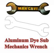 Dye Sublimation Aluminum Mechanic's Wrench Blank
