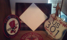 """""""THE VINTAGE LOOK"""" GLOSS SUBLIMATION BLANKS 12""""x 12"""" Highway Signs"""