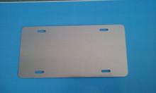 CLEAR Gloss Aluminum Dye Sublimation Auto License Plate Blanks 20PCs