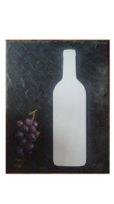 Custom Aluminum Dye Sublimation Wine Bottle Blank