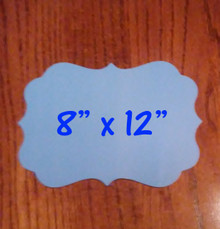 """8"""" x 12"""" Aluminum Dye Sublimation Benelux Style Blanks"""