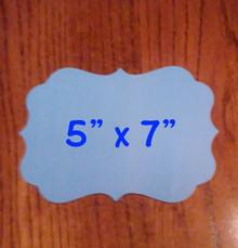 """5"""" x 7"""" Benelux Style Aluminum Dye Sublimation  Photo Blanks"""