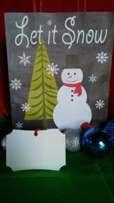 Christmas Berlin 2 Ornaments 2 SIDED WHITE Aluminum Dye Sublimation Blanks $1.02ea-10PCs