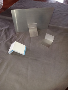 Aluminum Stand for Small Dye Sublimation Photos