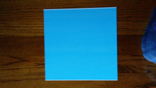 "10"" x 10"" Aluminum Dye Sublimation Photography Blanks .032"" Thick"