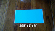 "7"" X 9"" Aluminum Sublimation Photography Blanks .025"" Thick"