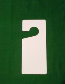 Aluminum Dye Sublimation Door Hanger Sign Blank or Auto Rear View Hanger