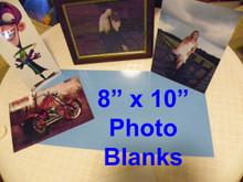 """8"""" X 10""""  Aluminum Sublimation Photography Blanks- 300PCs Free Shipping"""