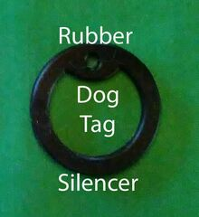 Silencers for Dog Tags and Rounds 100PCs