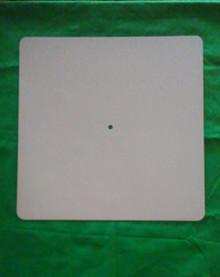 "Dye Sublimation Aluminum Clock Face Blank - 12"" Square"