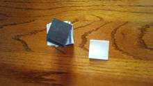 "Self Adhesive Magnets 1.5"" Square, 30ml"