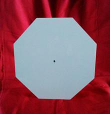 "12"" Octagon Clock Face Aluminum Dye Sublimation Blank"