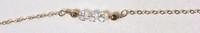 Three Wishes Swarovski: 14kt Gold Fill + Swarovksi Crystal Beads