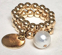 Piccolo: 14kt Gold Fill Beads + Pearl
