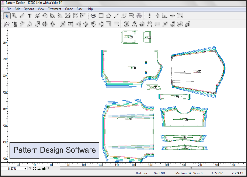 pattern software, CAD