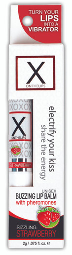 X ON THE LIPS SIZZLING STRAWBERRY   ONVL202   [category_name]